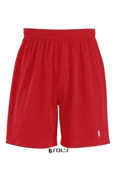 røde løbe trænings shorts