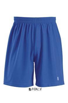 Trænings shorts blå - fås med logo