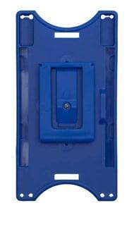 ID kortholder blå med klips