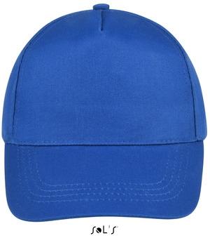 blå cap med logo tryk