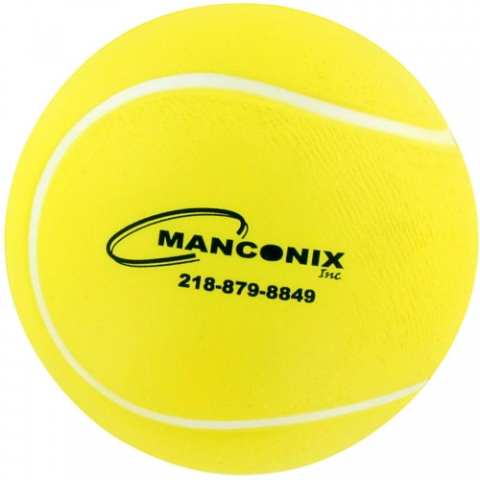 Antistressbold tennisbold logo