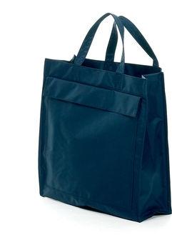 Mulepose blå med logo