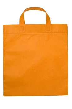 Mulepose orange med logo
