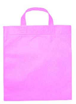 Mulepose med logo lilla