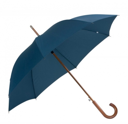 blå logo paraply