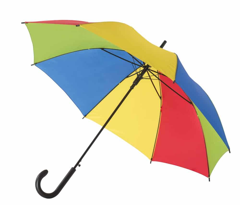 regnbue logo paraply