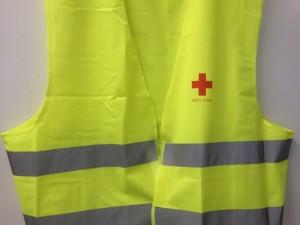 Veste til Røde Kors