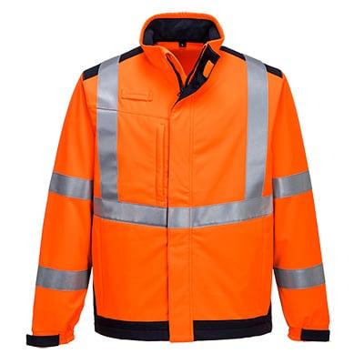 refleks jakke klasse 3 orange
