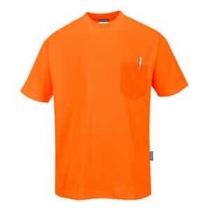 refleks t-shirt orange