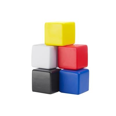 Stressbolde terninger i farver