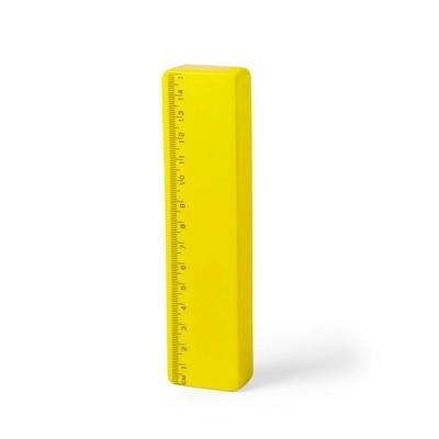 Stressbold lineal gul med logo