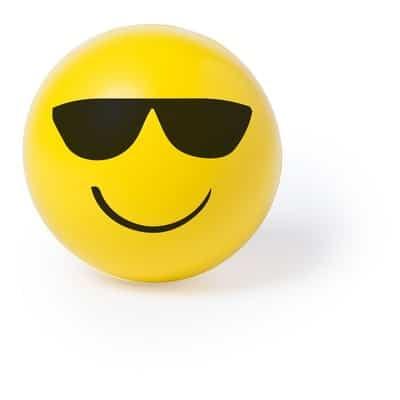 smily stressbold med solbrille