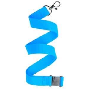 Nøglesnor / keystrap lyseblå