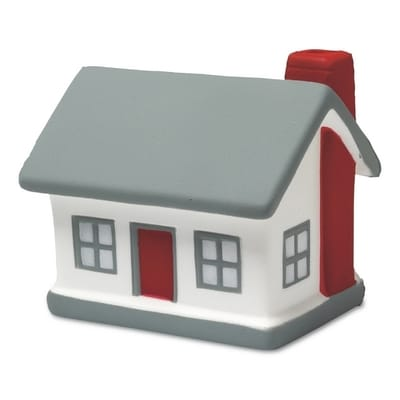 Stressbolde som hus logo