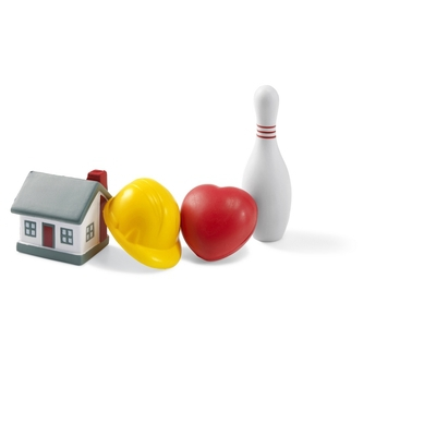 Stressbolde som hus