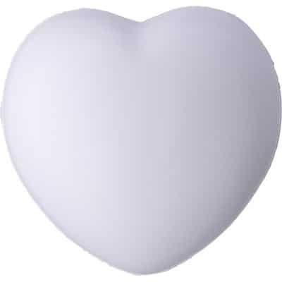 Stressbolde som hvidt hjerte