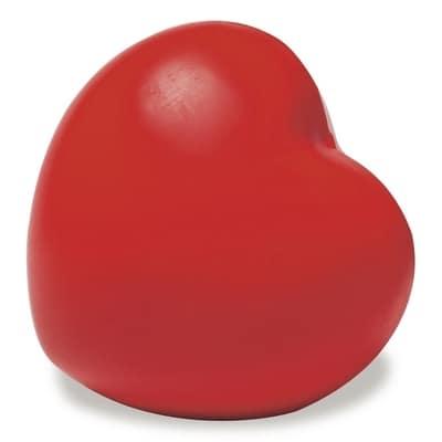 Stressbolde som rødt hjerte