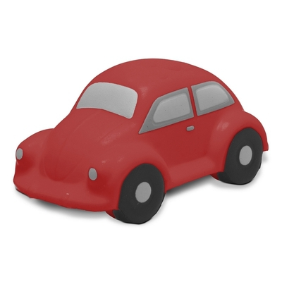 Stressbolde som bil rød