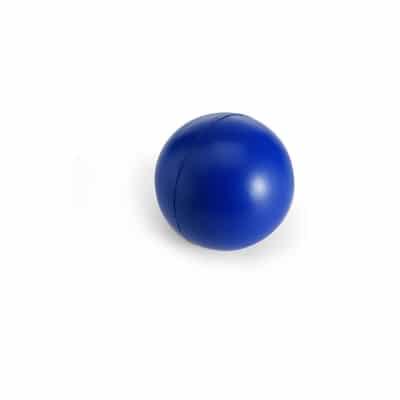Blå Stressbold med logo