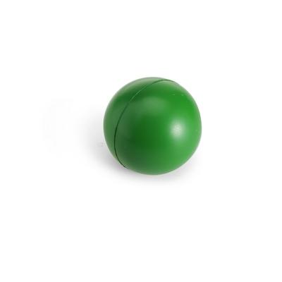 Grøn stressbold med logo
