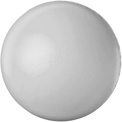 Hvid stressbold med logo