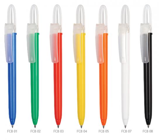 Fill plast kuglepen med logo