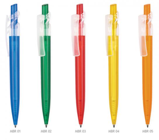 Maxx plast kuglepen med logo