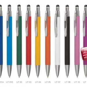 Metalkuglepenne med logo