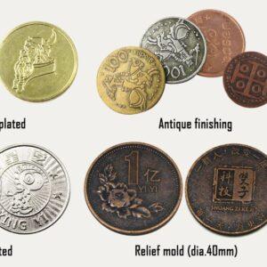 Mønt med eget tryk