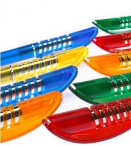 Kuglepenne plast med tryk