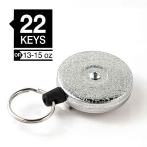 keybak blank sølv