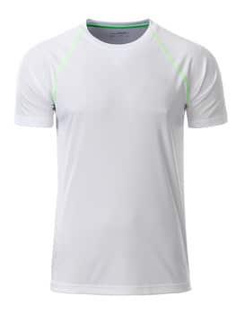 Løbe T-shirt med logotryk
