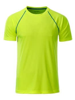 Løbe T-shirt med logo