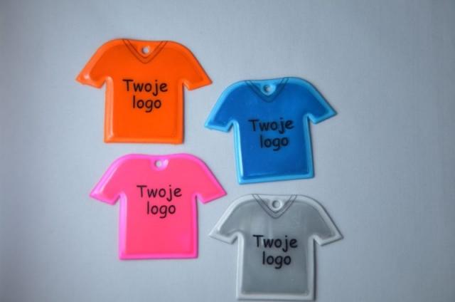refleks t shirt nøglering
