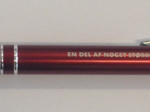 Kuglepenne i metal med lasergravering