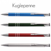 kuglepenne metal med logo tryk