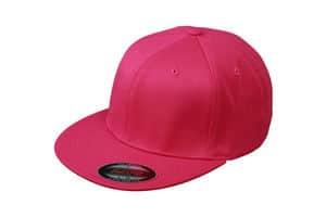 rød logo cap