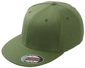 Grøn cap med logo