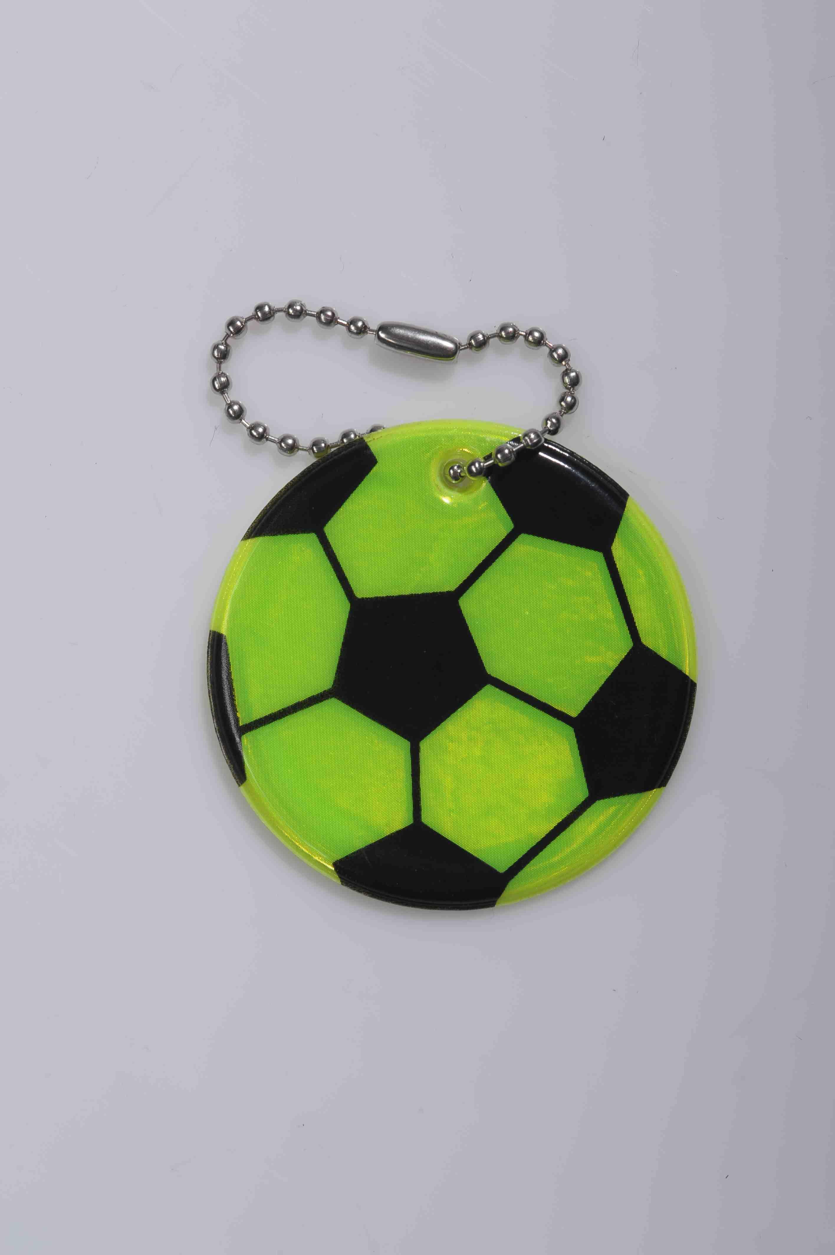 refleks fodbold nøglering