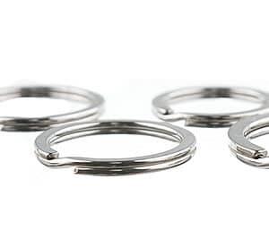 splitnøgleringe metal